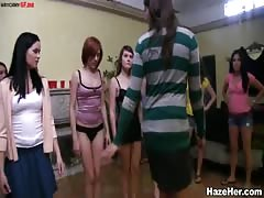Sex humuliation in the dorm full of hot colege sluts