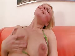 Pumped pussy and ass fuck
