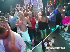 Lusty drunk whore is getting fucked in the club as she love