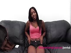 Hardbody Black Girl Ass Fucked and Huge Cum Facial