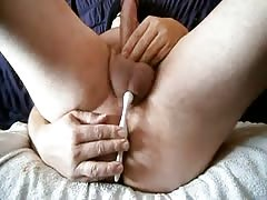 handjob,cumshot  with prostate nmassage