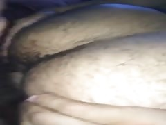 Ass play with cum