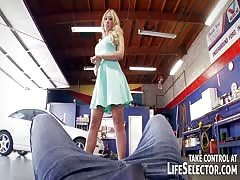 Mechanic fuck hot lady clients the way you want
