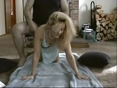 Cheating blonde wife nailed hard by a tattooed fat man