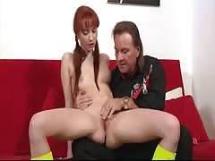 Teen and Older man