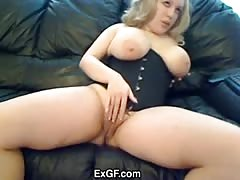 ExGF Bubbling And Toying Pussy