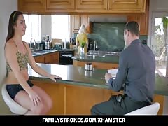 FamilyStrokes - Caught Fucking My Step-Dad